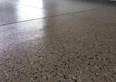 Epoxy Floor Flake Gray